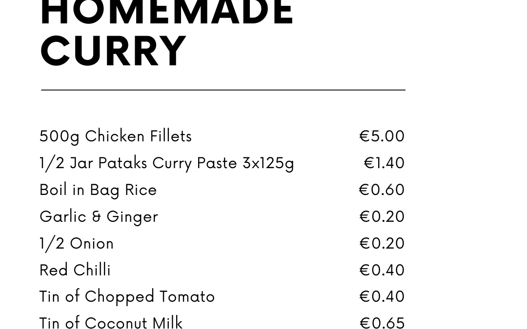⭐ How To Feed A Family of 4 For Less Than €10 ⭐